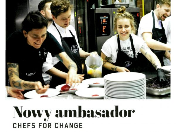 Szef Kuchni o Chefs for Change