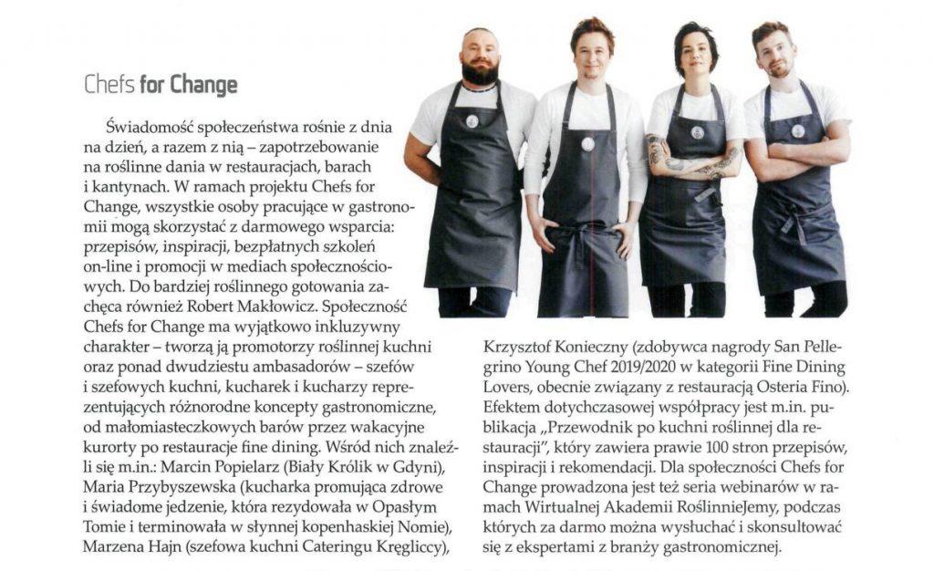 Poradnik Restauratora o Chefs for Change